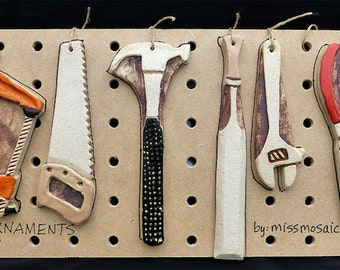 Ceramic Tool Ornaments