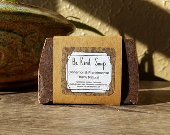 Cinnamon Frankincense Soap