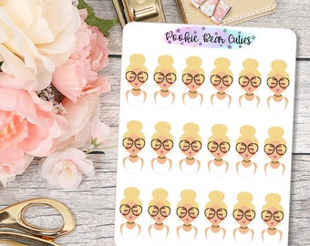 Babe- Choker Stickers- A08
