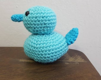 Rubber Duck, Crochet Rubber Ducky, Baby Duck