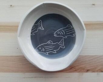 Salmon Spoon Rest
