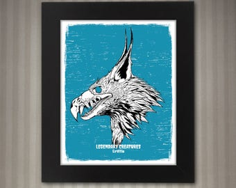 Griffin - Legendary Creatures Art - 8x10