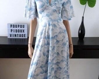 vintage Pinball CENTEX blue/white dress size 34/36 - uk - 6/8 us 2/4