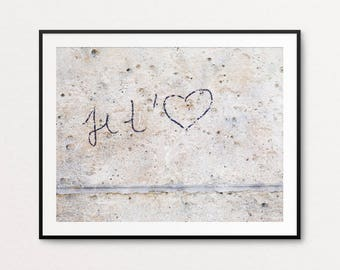 Paris Graffiti Photo - Paris Photography, Paris Street Art Photo, Paris Je t'aime, Paris I Love You, Paris Decor, Home Decor, Paris Wall Art