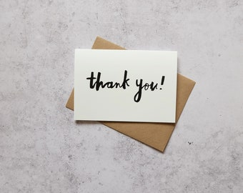 Thank you // greeting card