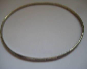 BEAU STERLING Marked Bangle Bracelet Lovely Design