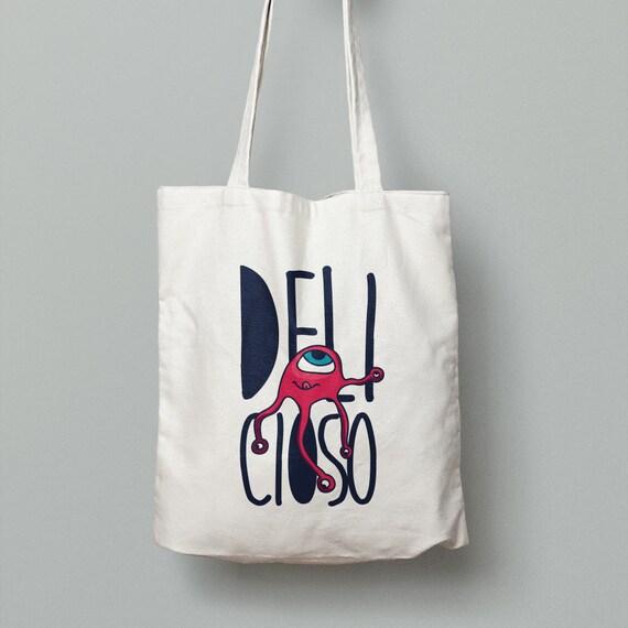 """Spanish Bag """"Delicioso"""""""