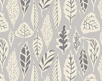 Hello Bear Leaflet Dawn from Art Gallery Fabrics By Bonnie Christine HBR-5435