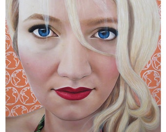 True Beauty - Katrina Schaman - ART PRINT - 8 x 10 - By Toronto Portrait Artist Malinda Prudhomme