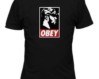 Kid Cudi obey Music T shirt M12
