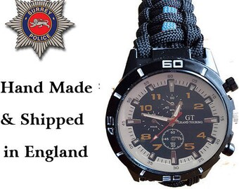 The Royal Scots Paracord Watch