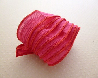 Ribbon silk hand-dyed color No. 1042