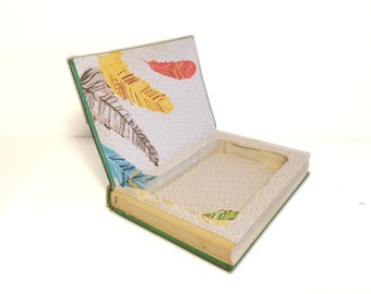 Hollow Book Safe A Field Guide to the Birds Cloth Bound vintage Secret Compartment Security hiding place