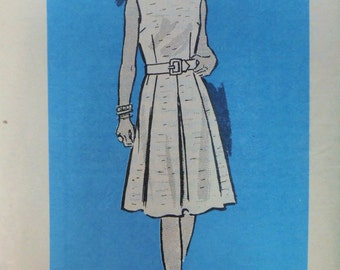 Vintage 1971 Mail Order Anne Adams DRESS Pattern size 34 bust 38 UNUSED