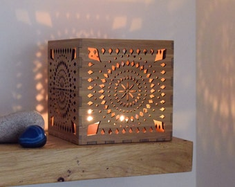 Moroccan Lantern, Candle Holder, Boho Candle Lantern, Wooden Tea Light Holder, Wedding Gift, Personalised Gift for Her, Women, Best Friend