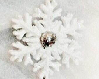Triple Snowflake Ornament