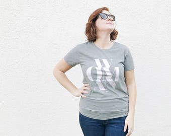 Woman Graphic Tee, Women's Slim Fit Tee, Female Shirt, Feminist Tee, Soft Tee, Women's Tee, Female Tee, Human Rights, Mom Life, I Am Woman