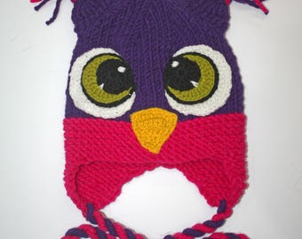 Baby Owl Hat  Newborn Hat Girl Hat Boy Hat Baby Photo Prop for Baby Boys and Girls Newborn Baby Hat