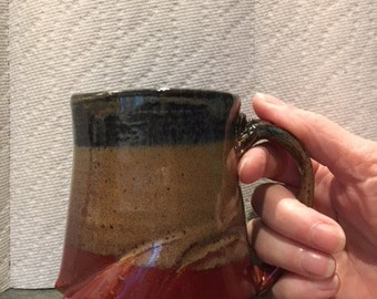 Altered handthrown mug