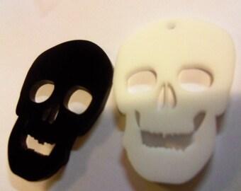 skull charms, skeletons,laser cut skulls, halloween skulls, halloween charms,party favors,skulls,
