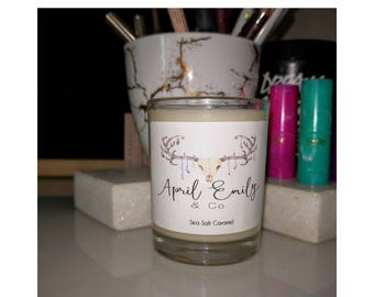 Strong Scented Soy Wax Votive - custom labels available!
