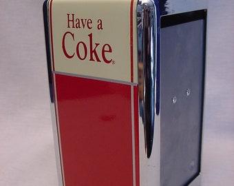 Collectible Coca Cola Napkin Dispenser 1992