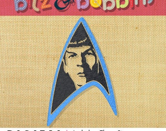 Star Trek - Spock Insignia - Digital Embroidery Design