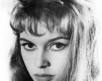 Brigitte Bardot, Hollywood Regency, Fine Art Print, Giclee Print, Old Hollywood, Home Theater Art, Hollywood Glamour, Hollywood, Celebrities