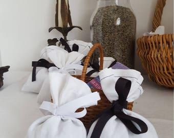 Lavender Linen Sachet - Lavender Scented Bag