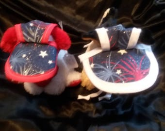 4th of July Small Dog Hats