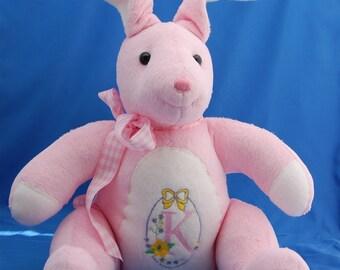 Monogrammed Rabbit