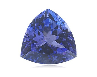 1.65-1.75 Cts of 7.95x7.85x7.9 mm AAA Color - SI Trillion Tanzanite ( 1 pc ) Loose Gemstone-376085
