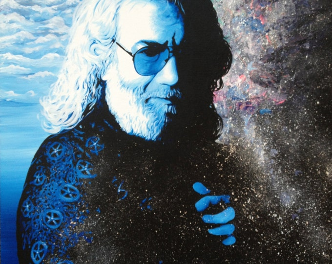 Stella Blue - Jerry Garcia . prints. 2015