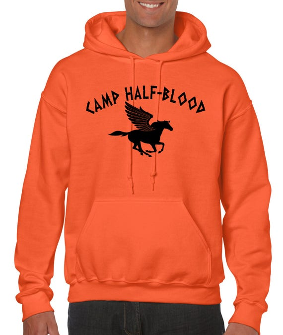 Camp Half Blood Hoodie Percy Jackson Halloween Costume 2 Sided Print Sweatshirt Adult Youth sizes S-3XL