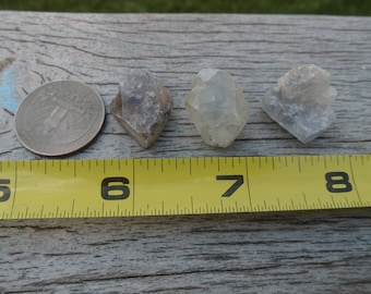 Double Terminated Celestite Crystal, Celestine, Crystal Points, Blue Andryte, Angelite