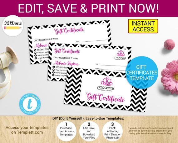 Printable paparazzi gift certificate paparazzi coupon solutioingenieria Images