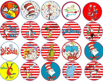 Dr Seuss Images Cupcake, Cookie Toppers
