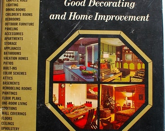 The Practical Encyclopedia of Good Decorating and Home Improvement volume 1 midcentury atomic decorating book