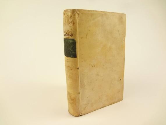1596 Latin Program for 1st and 2nd school (in Latin), Progrymnasmatum Latinitatits, by Jacobus Pontanus