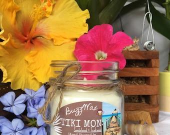 Tiki Mon Candle (Sandalwood & Teakwood)