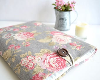 Floral Laptop Case for Surface Laptop, MacBooks, Chromebooks, Surface Book, Surface Pro, Or Custom Size
