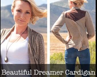 Beautiful Dreamer Cardigan PDF Sewing Pattern