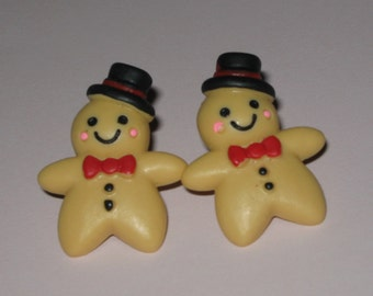 SALE Ginger Bread  Earrings
