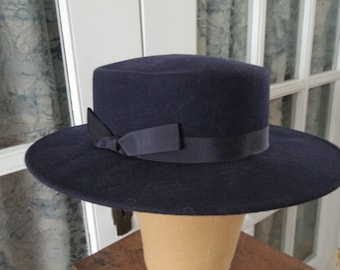 Vintage Felt Tina Too Gaucho Hat