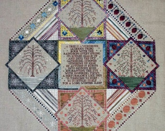 A Sampler of Seasons PDF Chart by Northern Expressions Needlework