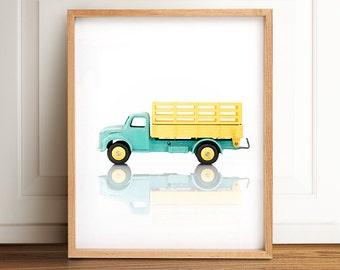 Boys nursery decor, Playroom decor, PRINTABLE art, Boys room wall art, Vintage car decor, Nursery prints, Boy nursery decor, Kids room art