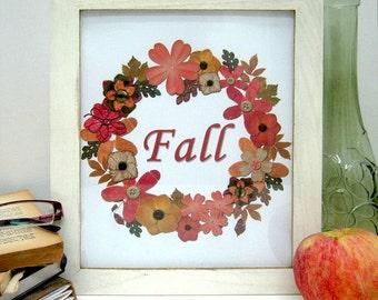 Autumn Wall Art - Fall Printables - Instant Download - Fall Wall Art - Autumn Printables - Fall Wreath Print - Autumn Wall Decor