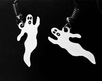 Ghost Earrings, Vintage components