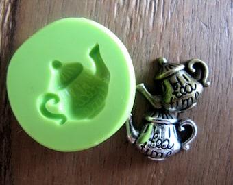 Tea Time, cup of tea Silicone mould / Silli mold