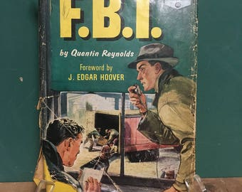 1963 FBI Book By Quentin Reynolds